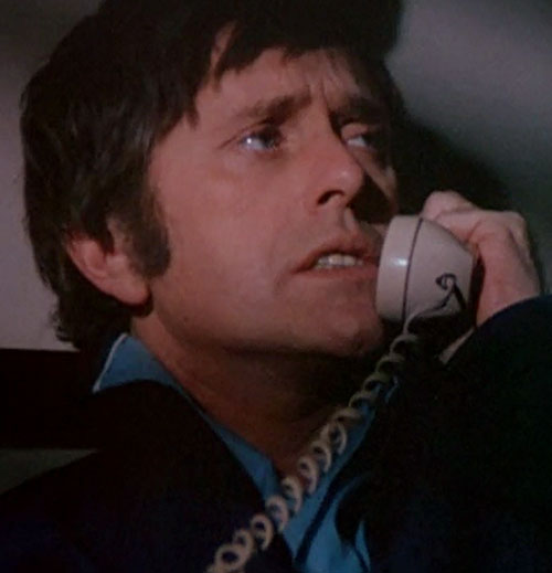 Jack McGee (Jack Colvin in The Incredible Hulk TV series) on the phone