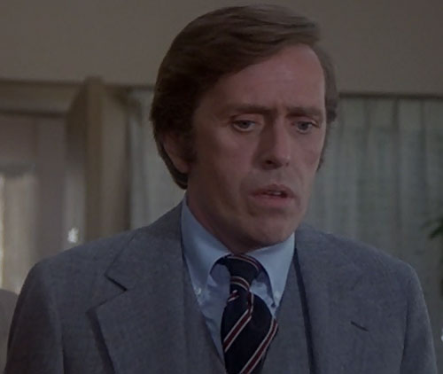 Jack McGee (Jack Colvin in The Incredible Hulk TV series) gob-smacked