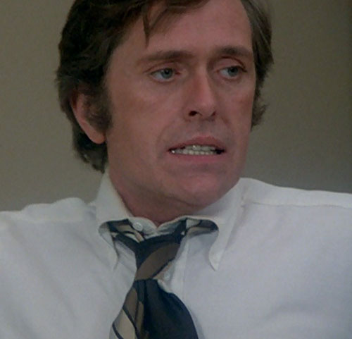 Jack McGee (Jack Colvin in The Incredible Hulk TV series) dress shirt 1970s tie