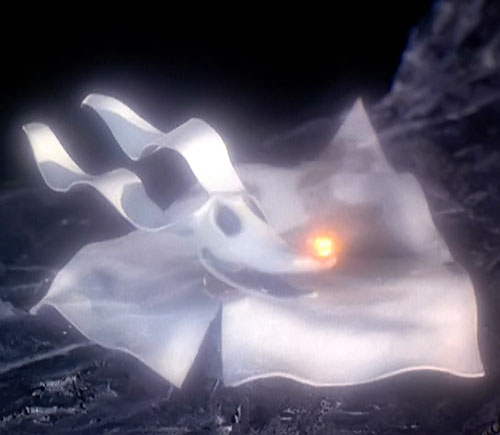 Zero the ghost dog (The Nightmare Before Christmas)