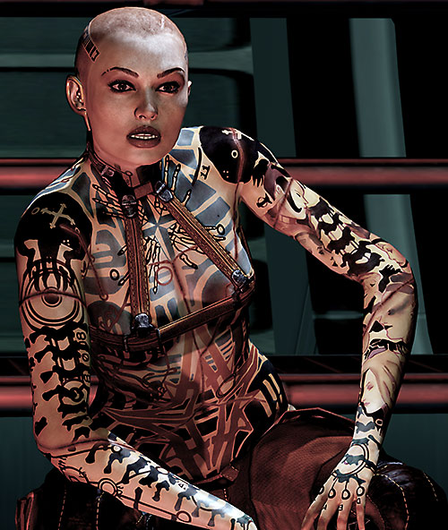 Jack Subject Zero (Mass Effect 2)