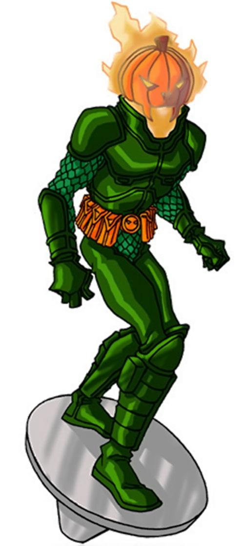 Jack O'Lantern II (Marvel Comics) by RonnieThunderbolts