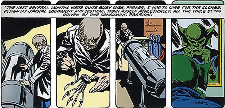 The Jackal (Miles Warren) is born