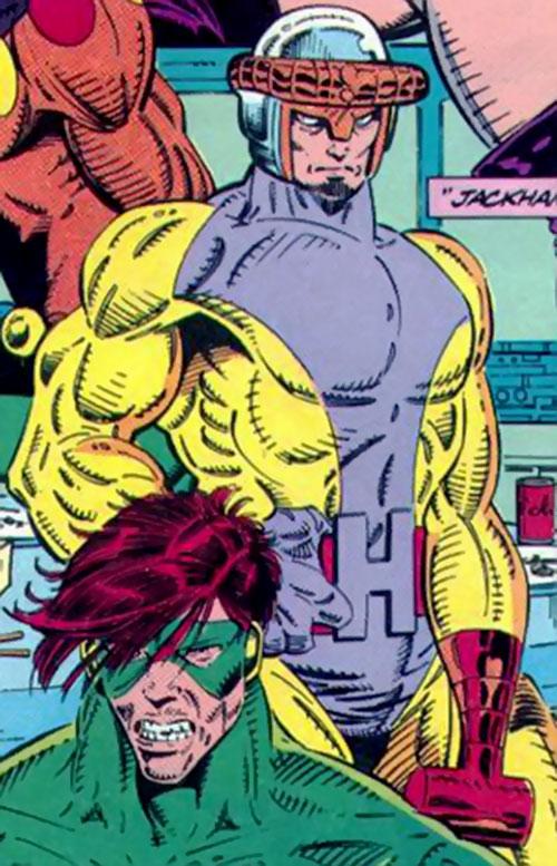 Jackhammer (Marvel Comics) as a Master of Evil