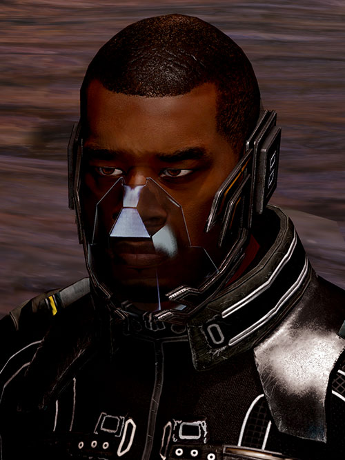 Jacob Taylor (Mass Effect) rebreather