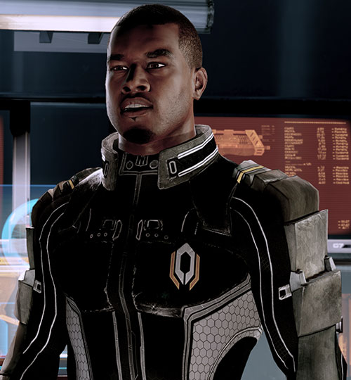 Jacob Taylor (Mass Effect) annoyed