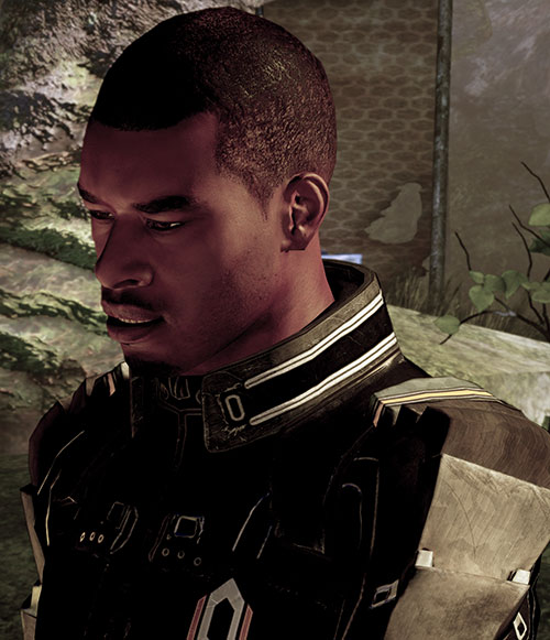 Jacob Taylor (Mass Effect) disgusted