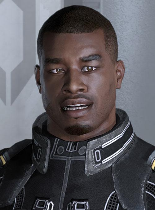 Jacob Taylor (Mass Effect) amused