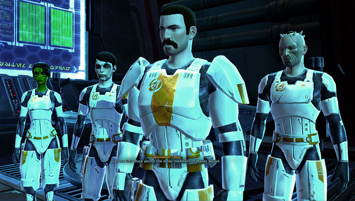 SWTOR - Star Wars the Old Republic- Havoc Squad