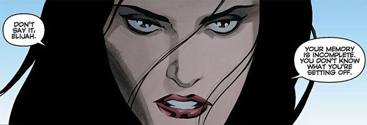 Jakita Wagner face closeup
