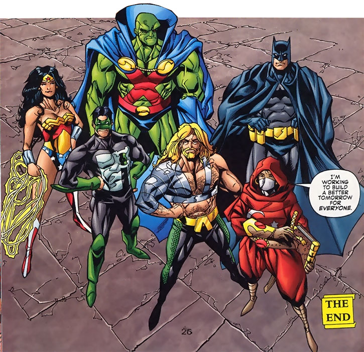 Janissary (Selma Tolon) and the JLA