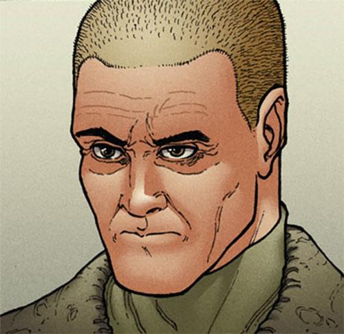 Jarhead (Halcyon Image Comics) face closeup