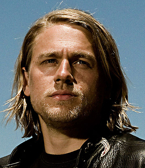 Jax Teller (Charlie Hunnam in Sons of Anarchy) long hair