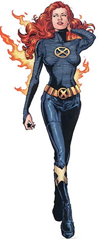 Jean Grey (Phoenix) (Marvel Comics) in the black New X-Men uniform