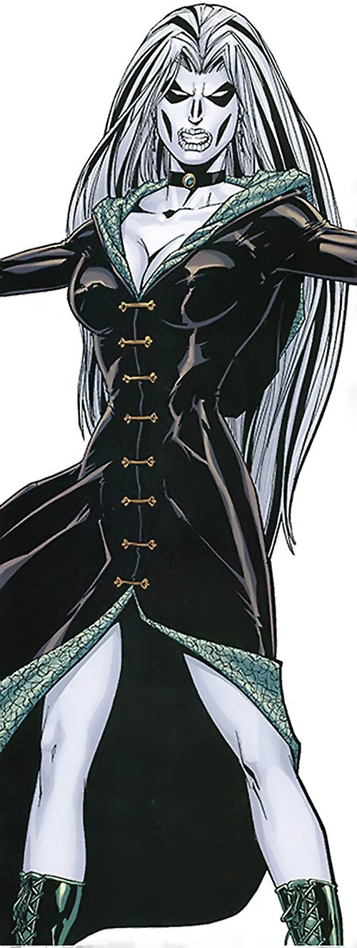 Jeanette of the Secret 6 (DC Comics) as a banshee