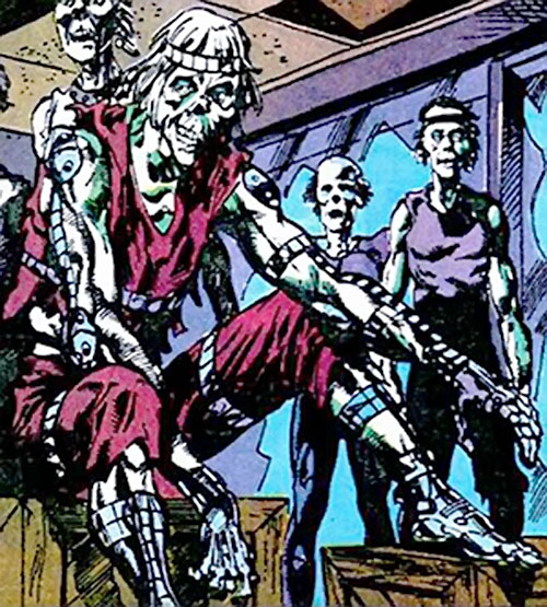 Koshchei the Deathless (Suicide Squad enemy) (DC Comics) and zombies
