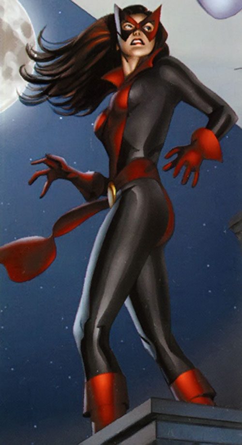 Jessica Jones (Marvel Comics) as Knightress