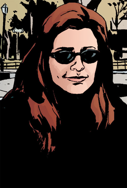 Jessica Jones (Marvel Comics) smiling
