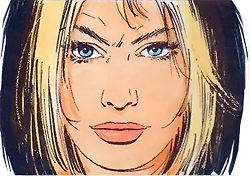 Jessica Martin (XIII comics graphic novels) face closeup
