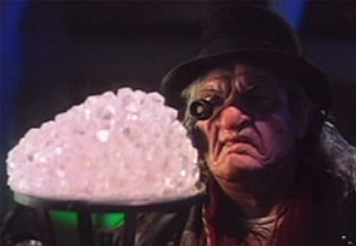 Jeweler (Fantastic Four) (1994 Roger Corman film) with a cluster of diamonds