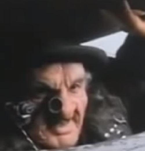 Jeweler (Fantastic Four) (1994 Roger Corman film) face closeup sewer plate
