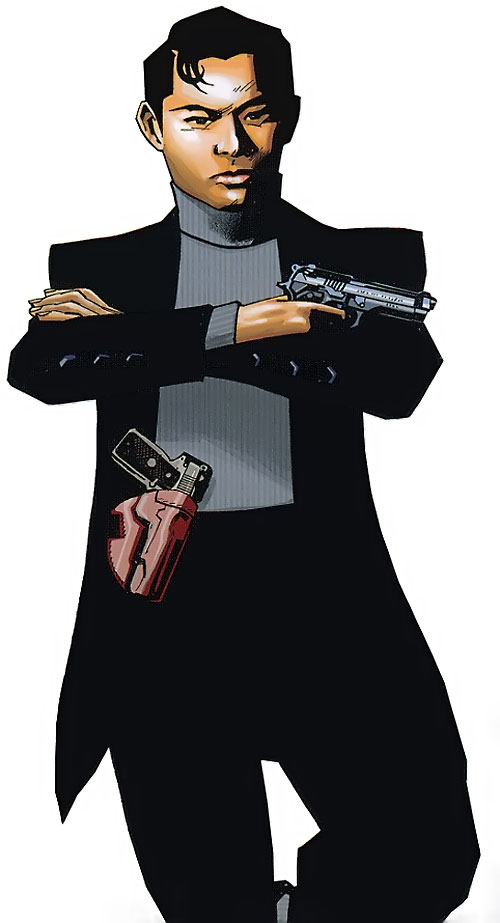 Jimmy Woo of the Agents of Atlas (Marvel Comics)