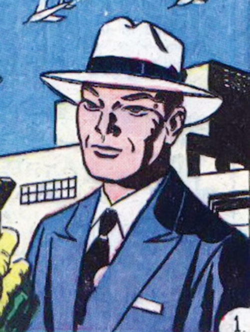 Jimmy Woo (1950s version) (Atlas Comics) with a white hat