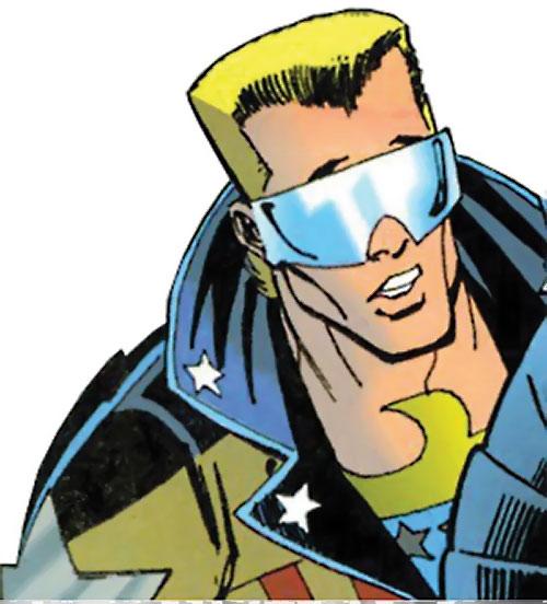 Joe Public (Batman Bloodlines) (DC Comics) face closeup