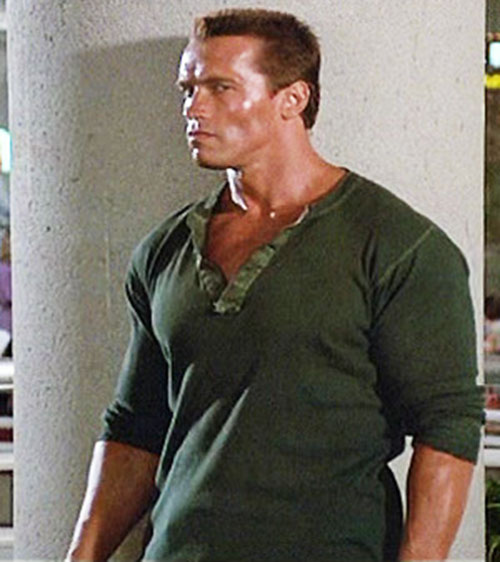 John Matrix (Arnold Schwarzenegger in Commando)