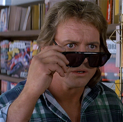 John Nada (Roddy Piper in They Live) incredulous about the sunglasses