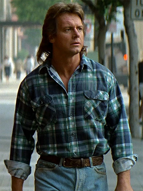 John Nada (Roddy Piper in They Live) walking on the street