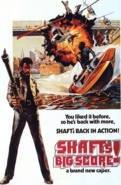 Shaft's Big Score movie poster