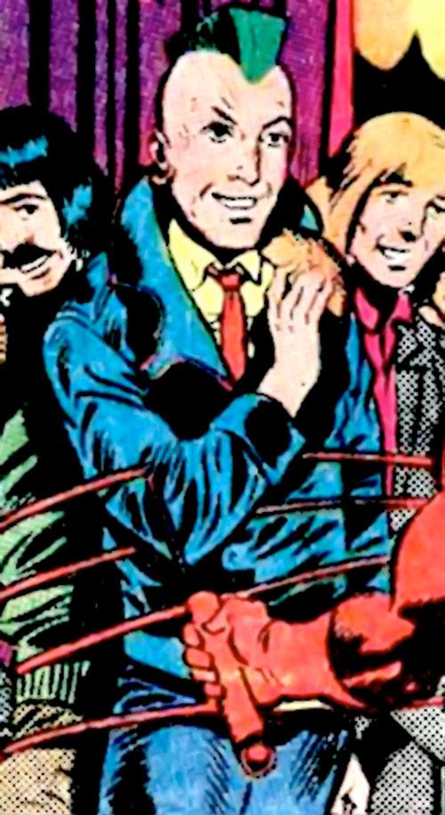 Johnny Punk (Hostess Comics) vs. Daredevil