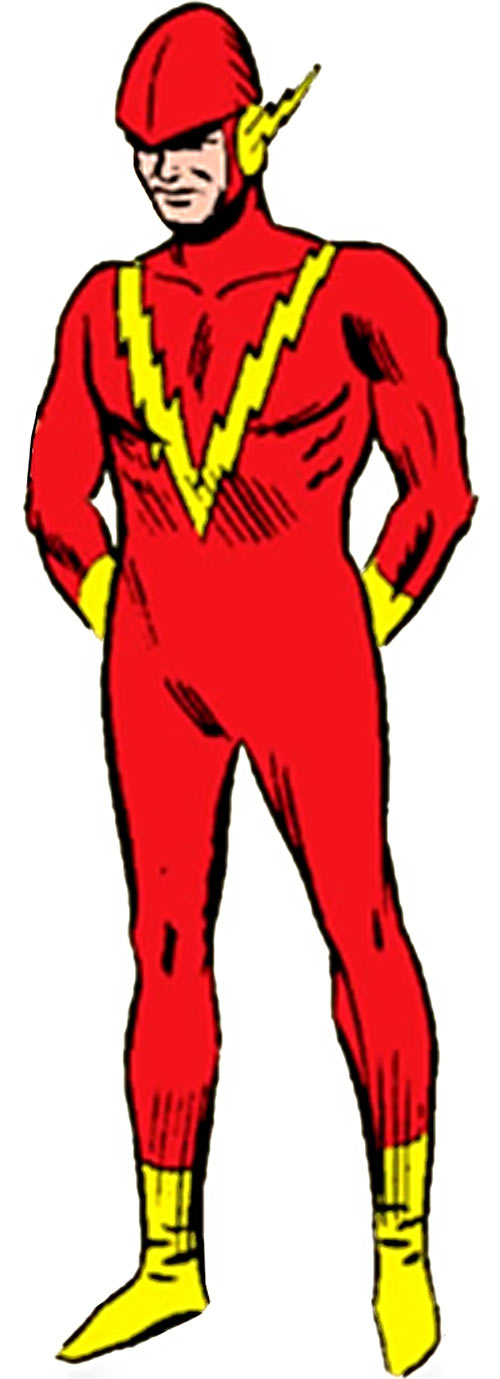 Johnny Quick of the Crime Syndicate (JLA enemy) (Pre-Crisis DC Comics)