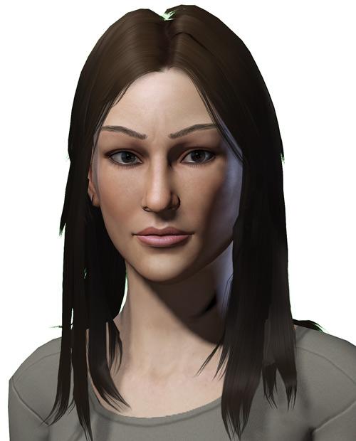 Jolene Hassan - Vault Dweller - Fallout 1 - Part 1 - Portrait