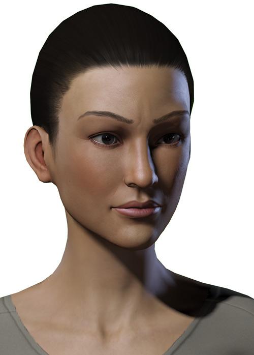 Jolene Hassan - Vault Dweller - Fallout 1 - Part 2 - Portrait