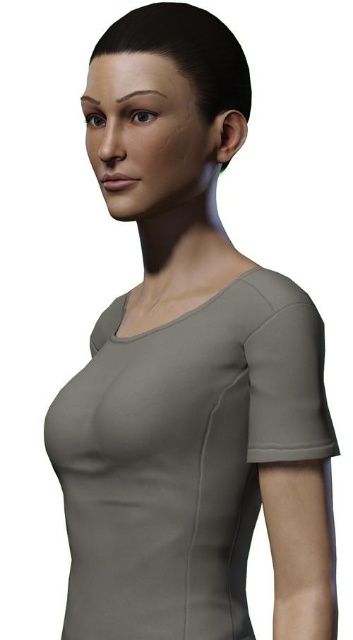 Jolene Hassan - Vault Dweller - Fallout 1 - Part 2 - Bust