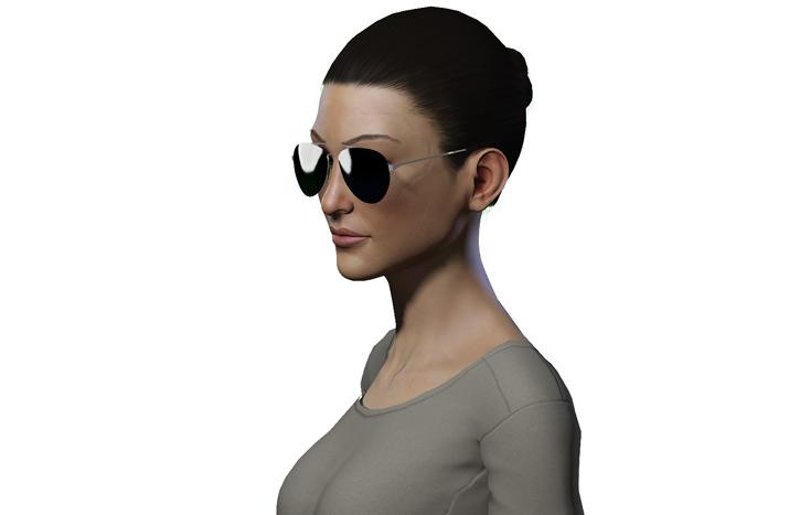 Fallout Vault Dweller portrait