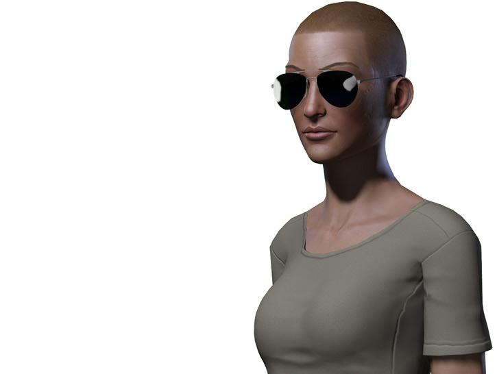 Fallout Vault Dweller portrait 2