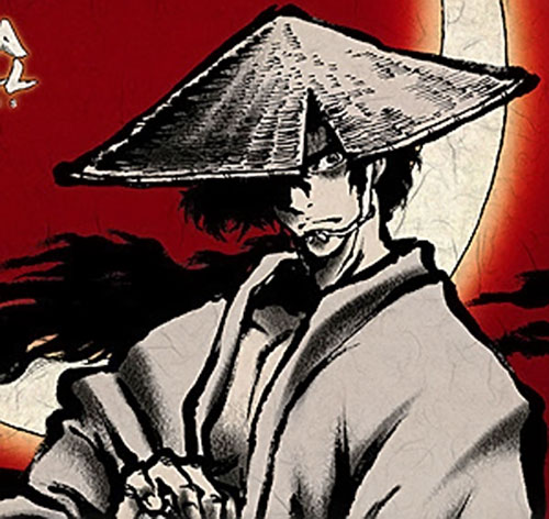 Jubei Kepagami (Ninja Scroll) with his hat on
