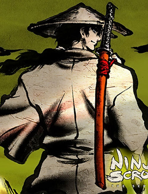 Jubei Kepagami (Ninja Scroll) back view