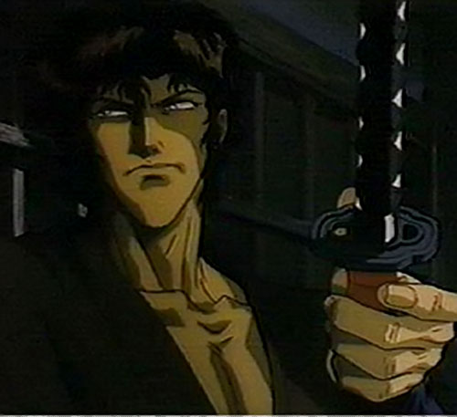 Jubei Kepagami (Ninja Scroll) in the dark