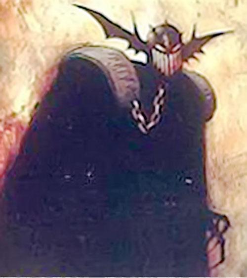 Judge Fear (Judge Dredd enemy) (2000AD Comics) in black