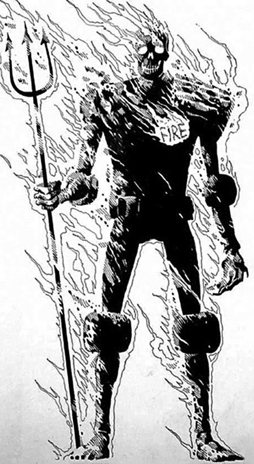 Judge Fire (Judge Dredd enemy) (2000AD Comics)
