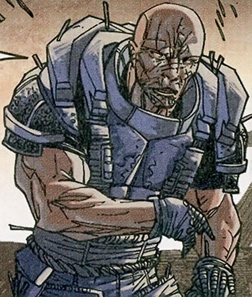 Jukko Hamalainen of Stormwatch Team Achilles (Wildstorm Comics)
