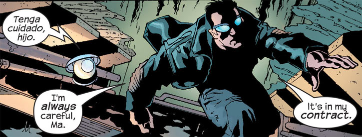 Junta (Marvel Comics) (The Crew) in the sewers with Ma