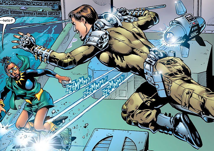 Junta (Marvel Comics) (Black Panther / The Crew character) vs. Queen Divine Justice