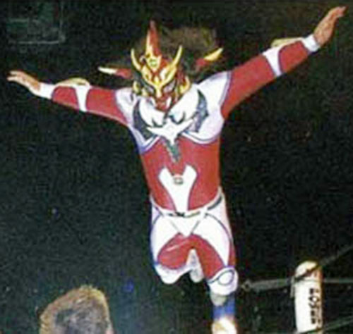 Thunder Liger in the ring