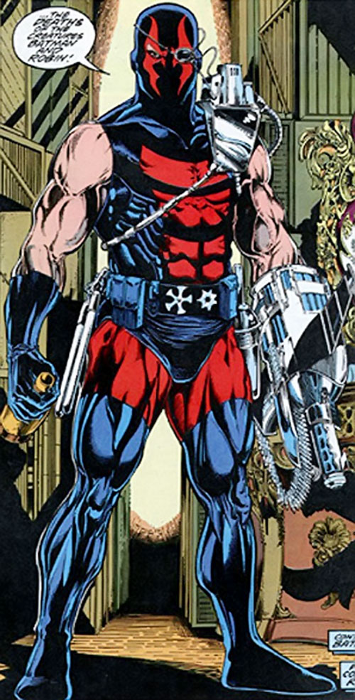 KGBeast (modern) (DC Comics) full body shot