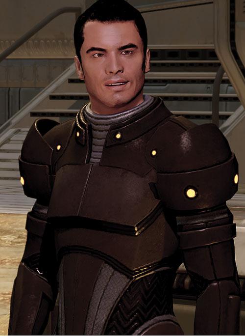 Kaidan Alenko in Mass Effect 2